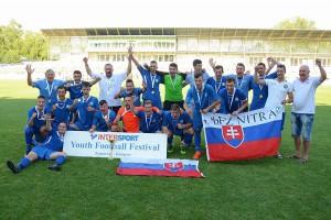 Výber dorastencov ObFZ Nitra vyhral oba veľké turnaje - vo Vroclave i v Kaposvári.