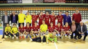 Dorastenci Nevidzian vyhrali PP Invest Cup po prvýkrát v histórii. Zdroj: MY Nitrianske noviny - Ladislav Odráška.